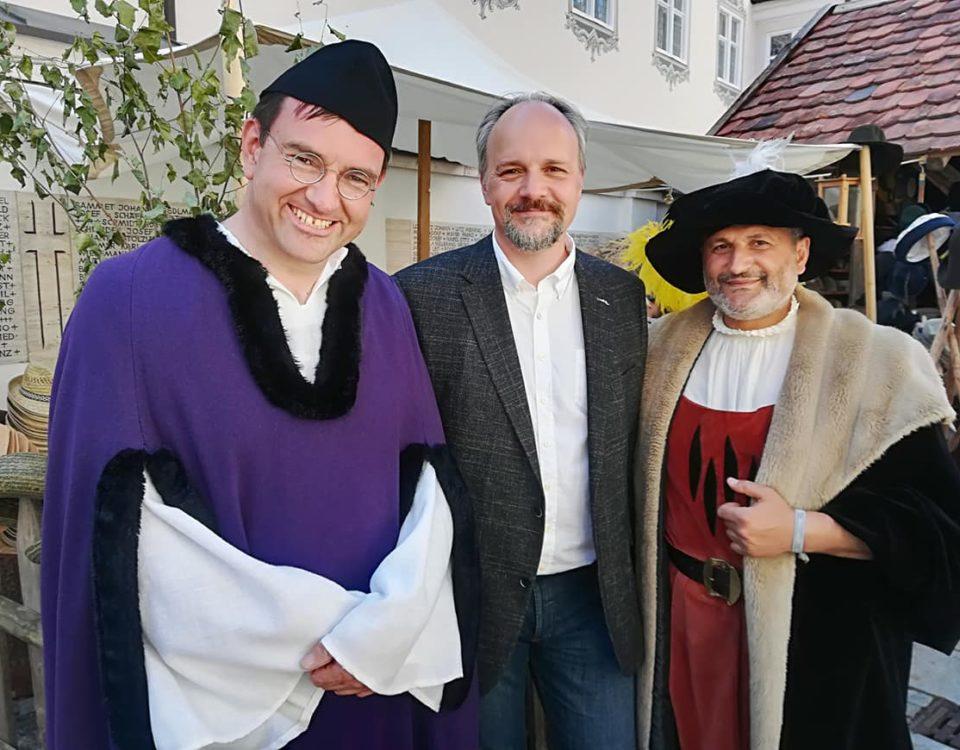 v.l.n.r.: Thomas Riederle, Markus Kubatschka, Mehmet Yesil